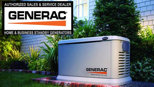 generac stand-by generator dealer New Orleans
